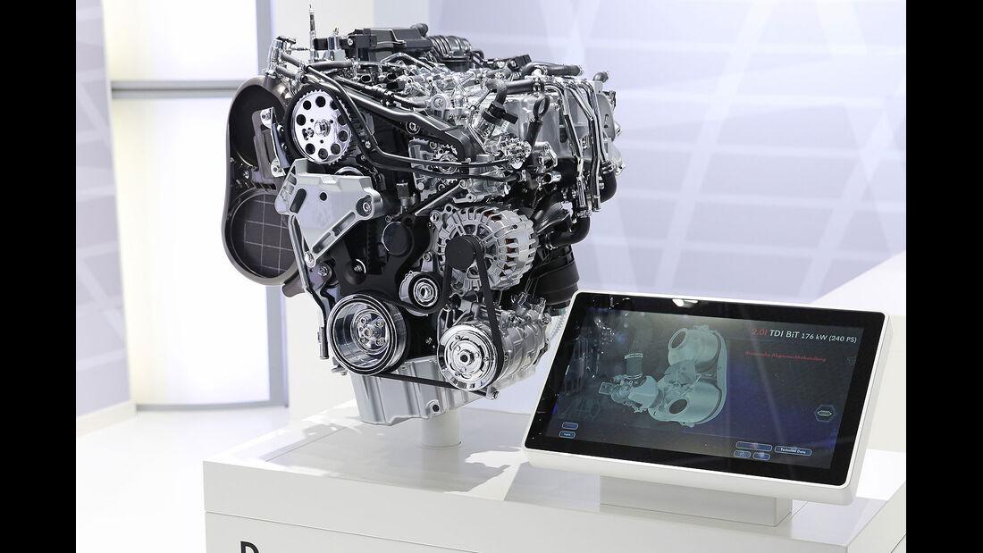 VW Passat Biturbo-Diesel-Motor