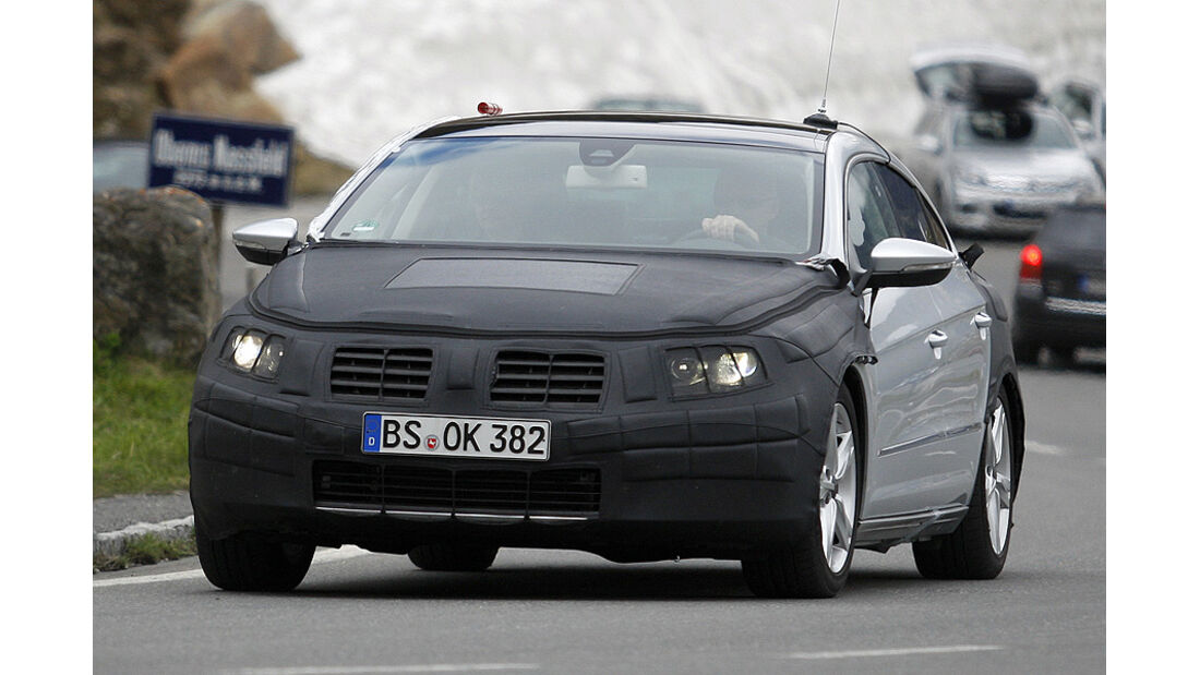 VW Passat CC Erlkönig