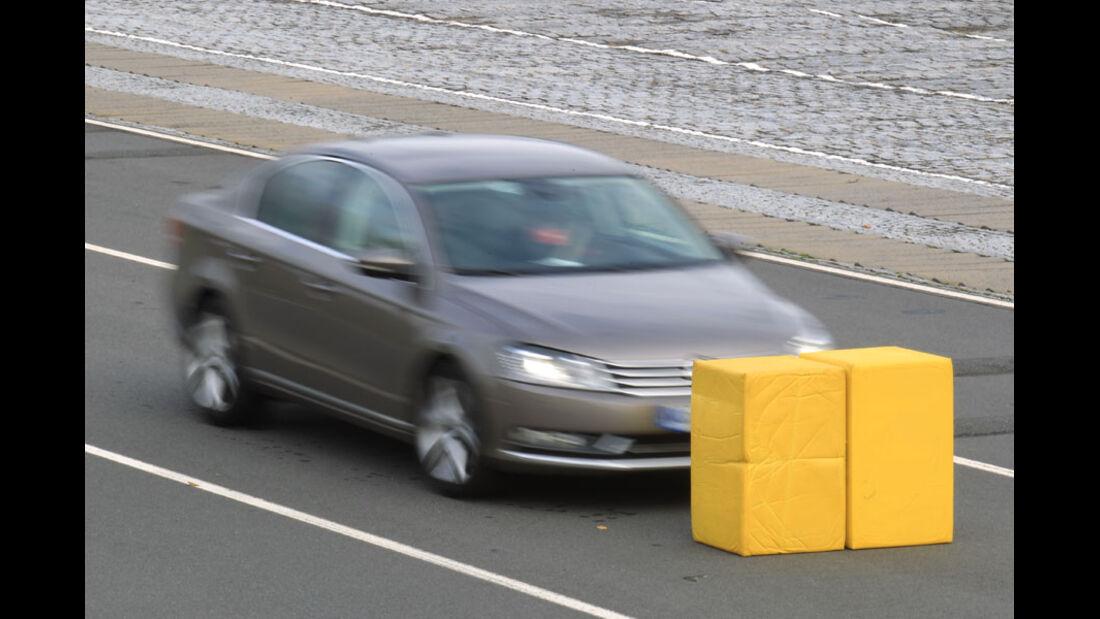 VW Passat, City-Notbremsfunktion