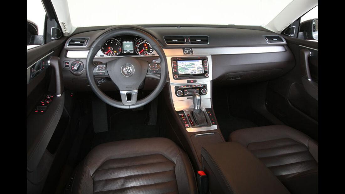 VW Passat, Cockpit, Innenraum