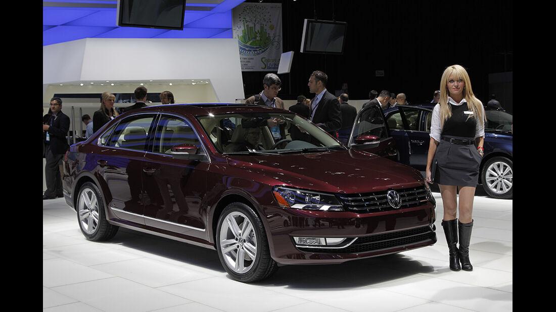 VW Passat, Detroit Motor Show, Rundgang