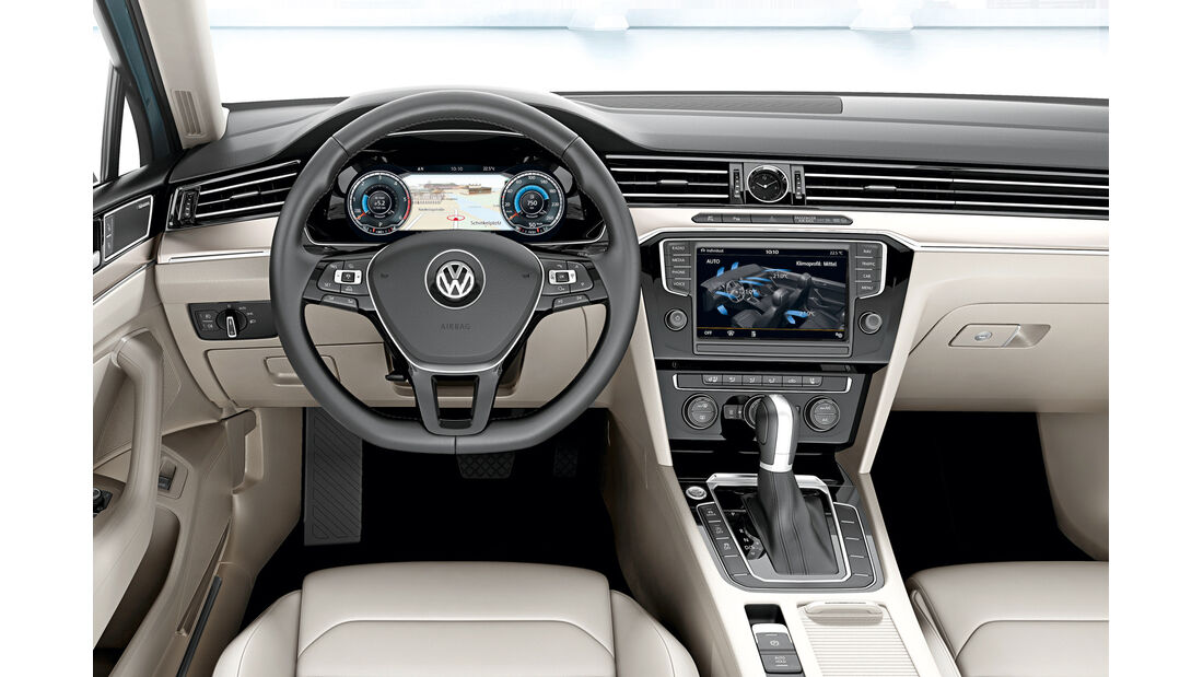 VW Passat, Display