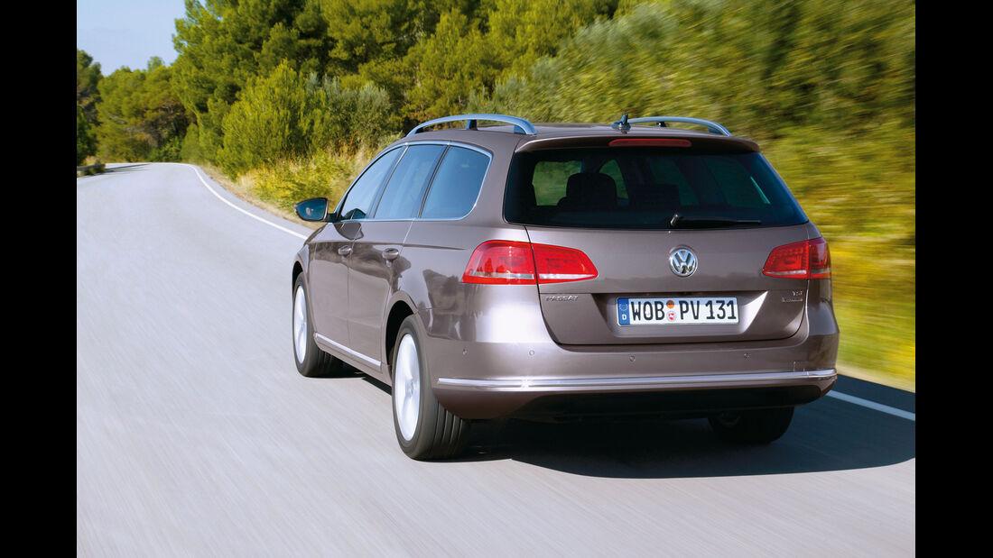 VW Passat Eco-Fuel, Heck