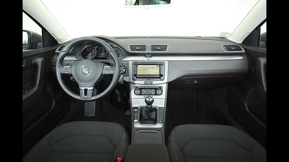 VW Passat Eco Fuel, Innenraum, Cockpit