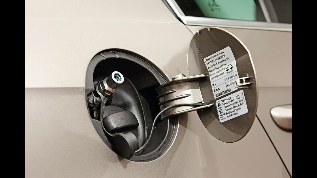 VW Passat Eco Fuel, Tankdeckel