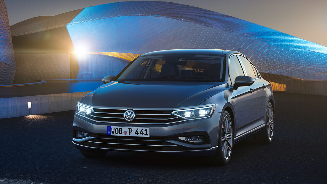 VW Passat Facelift 2020