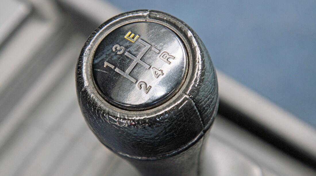 VW Passat Formel E, Schaltknauf