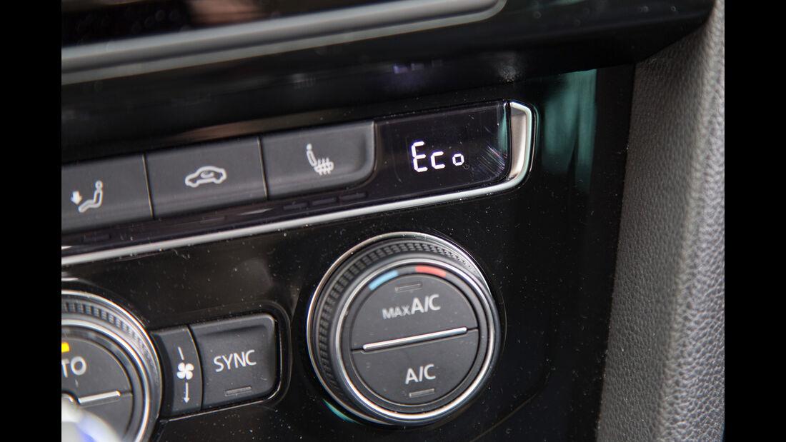 VW Passat GTE, Bedienelement