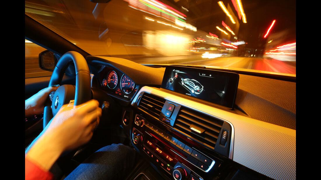 VW Passat GTE, Cockpit, Fahrersicht