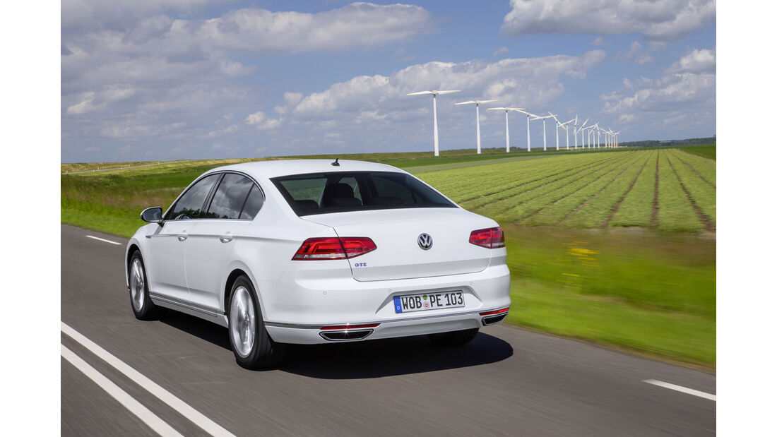 VW Passat GTE Fahrbericht