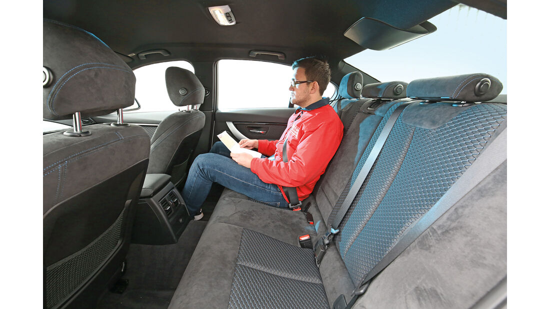 VW Passat GTE, Fondsitze