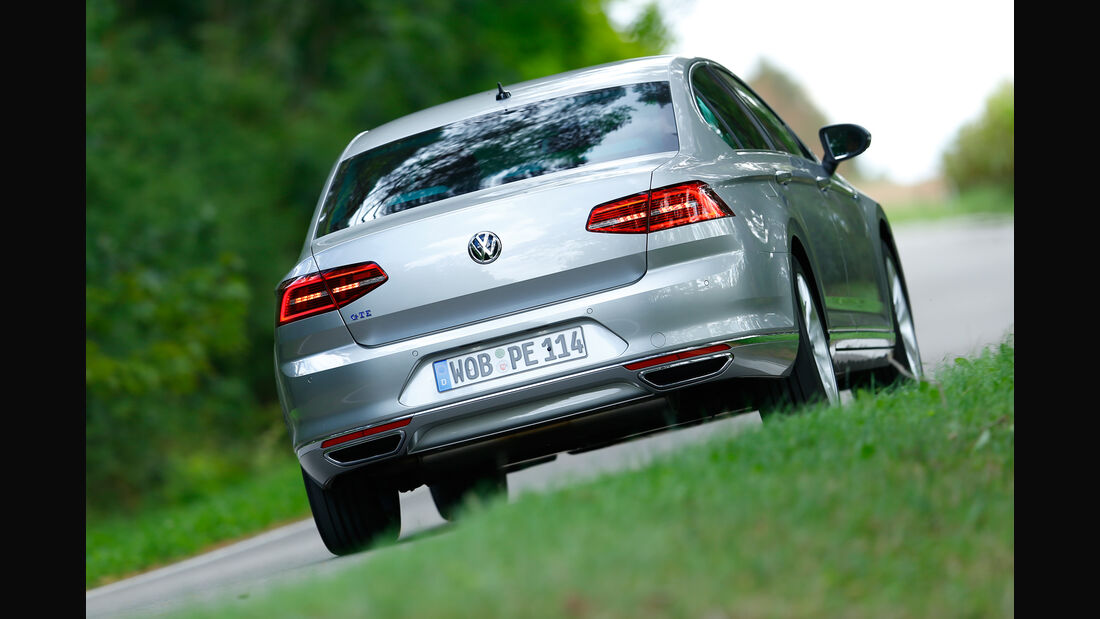 VW Passat GTE, Heckansicht