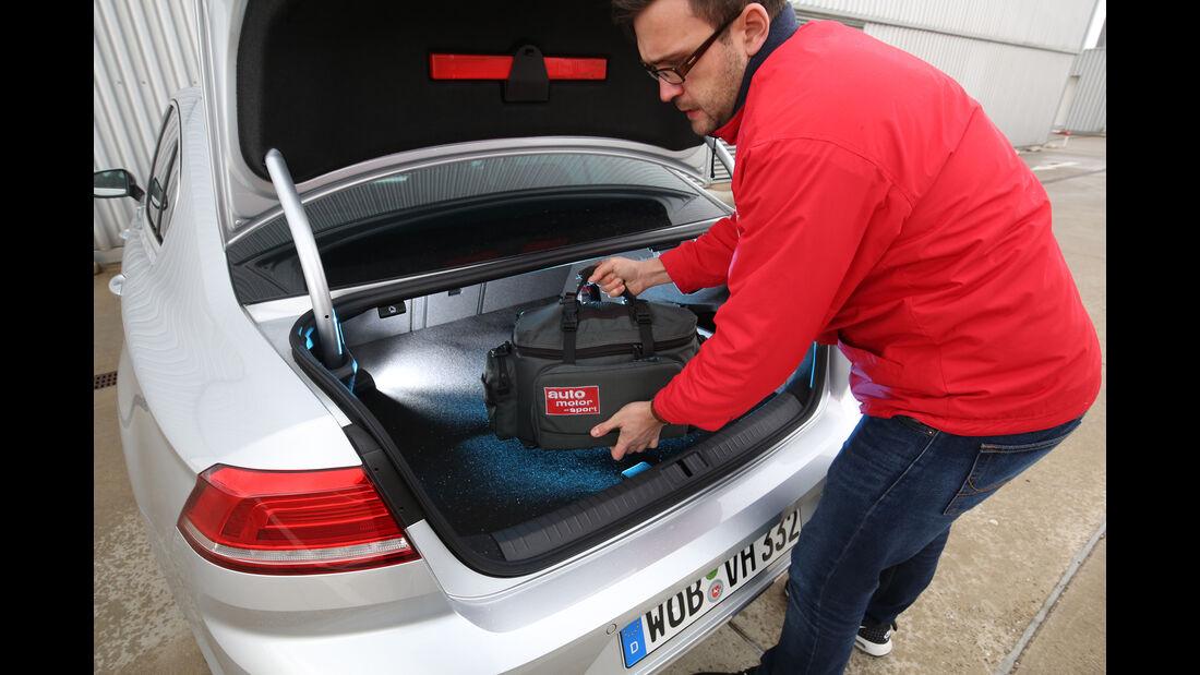 VW Passat GTE, Kofferraum