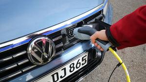 VW Passat GTE, Ladevorgang