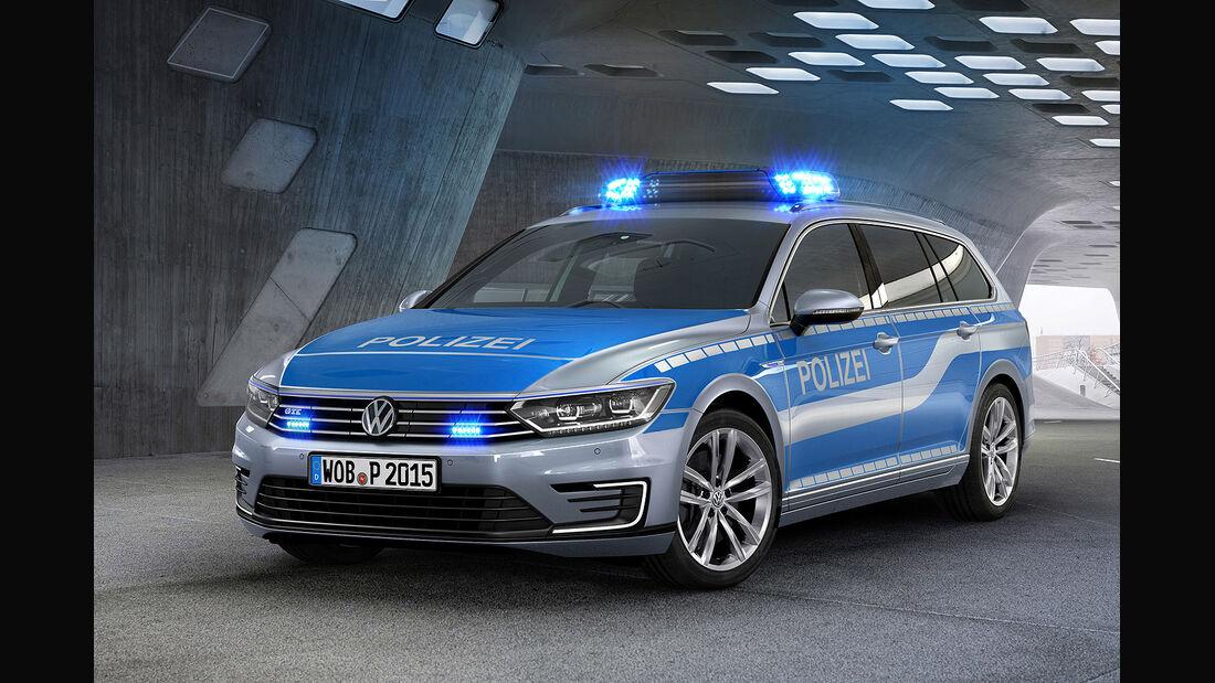VW Passat GTE Polizeiauto