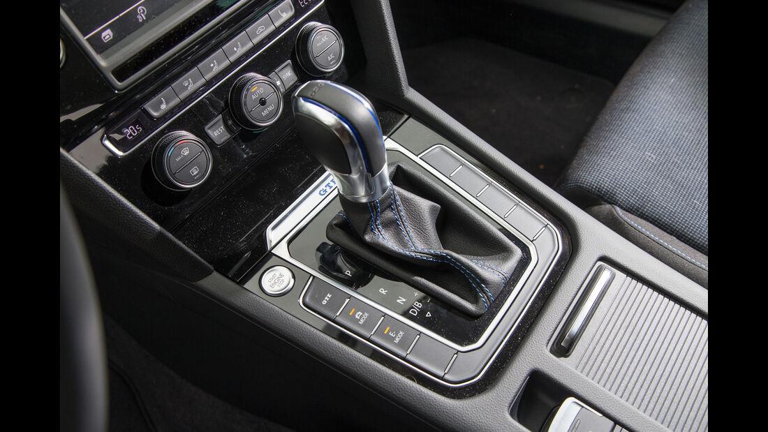 VW Passat GTE, Schalthebel