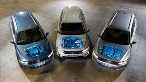 VW Passat GTE, VW Passat 2.0 TDI, VW Passat 2.0 TSI