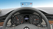 VW Passat, Head-up-Display