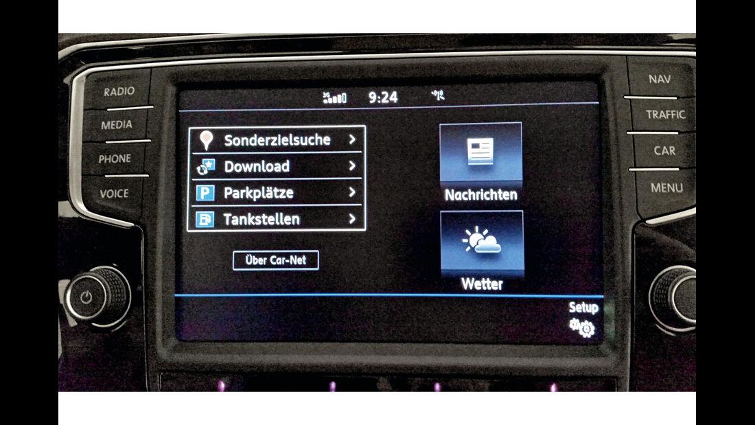 VW Passat, Infotainment, Technik, Multimedia