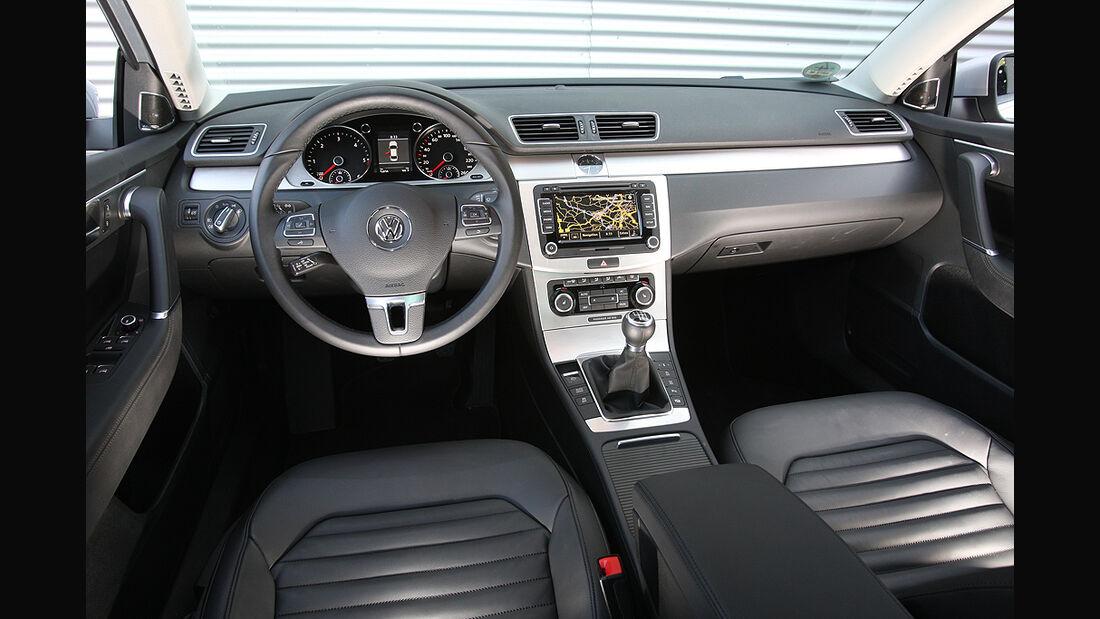 VW Passat, Innenraum, Cockpit