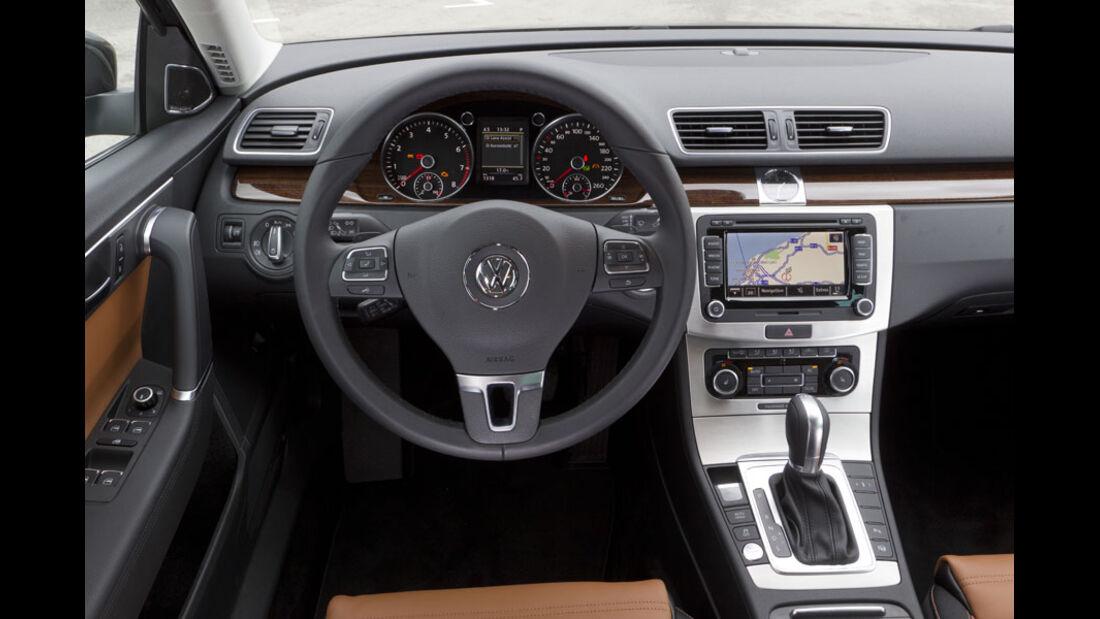 VW Passat, Instrumente
