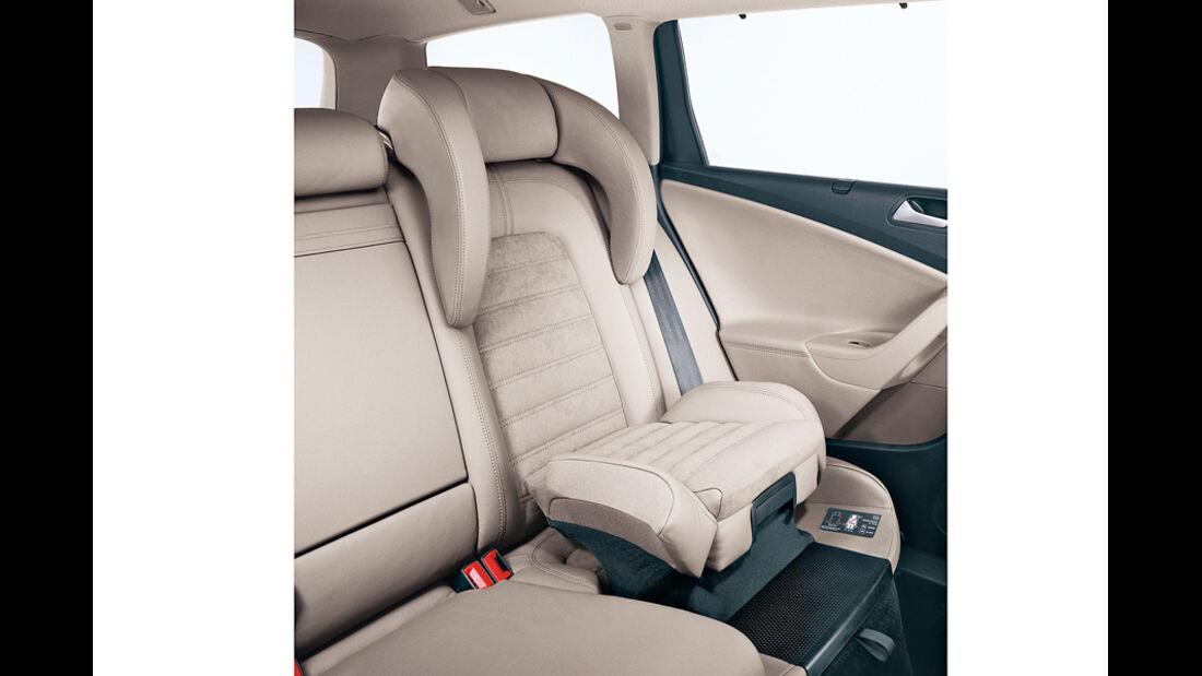 VW Passat, Kindersitz,