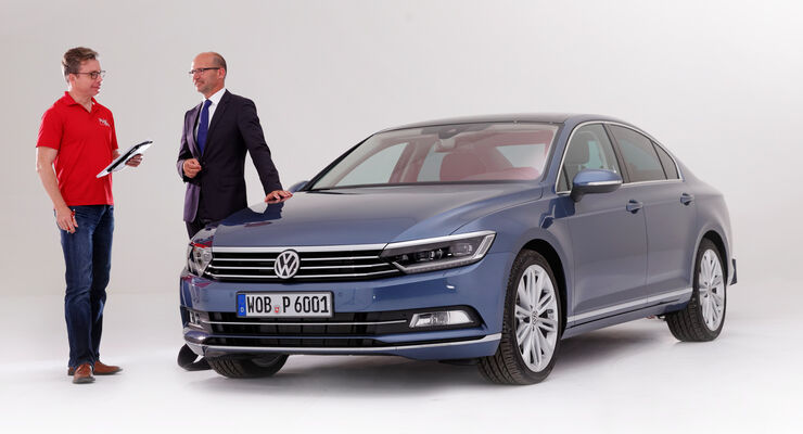 VW Passat, Klaus Bischoff, Dirk Gulde