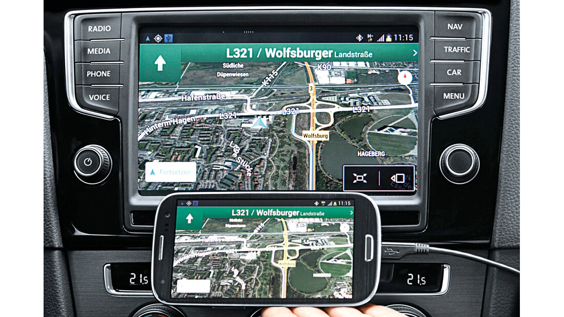 VW Passat, MirrorLink