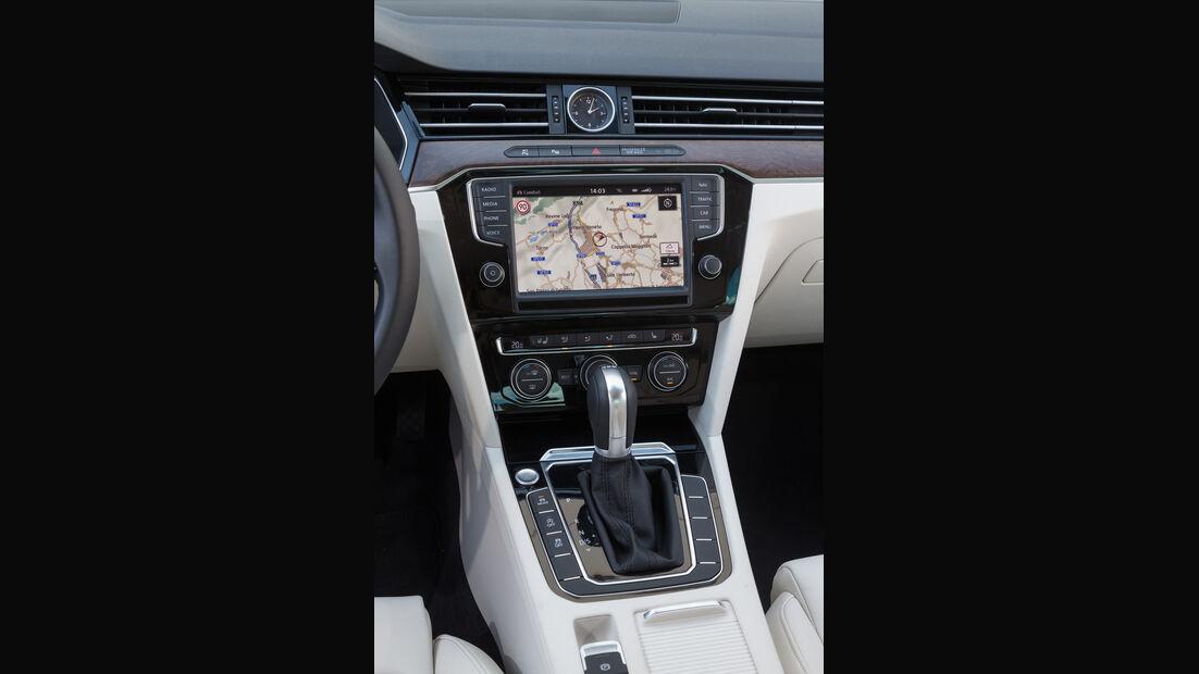 VW Passat, Mittelkonsole