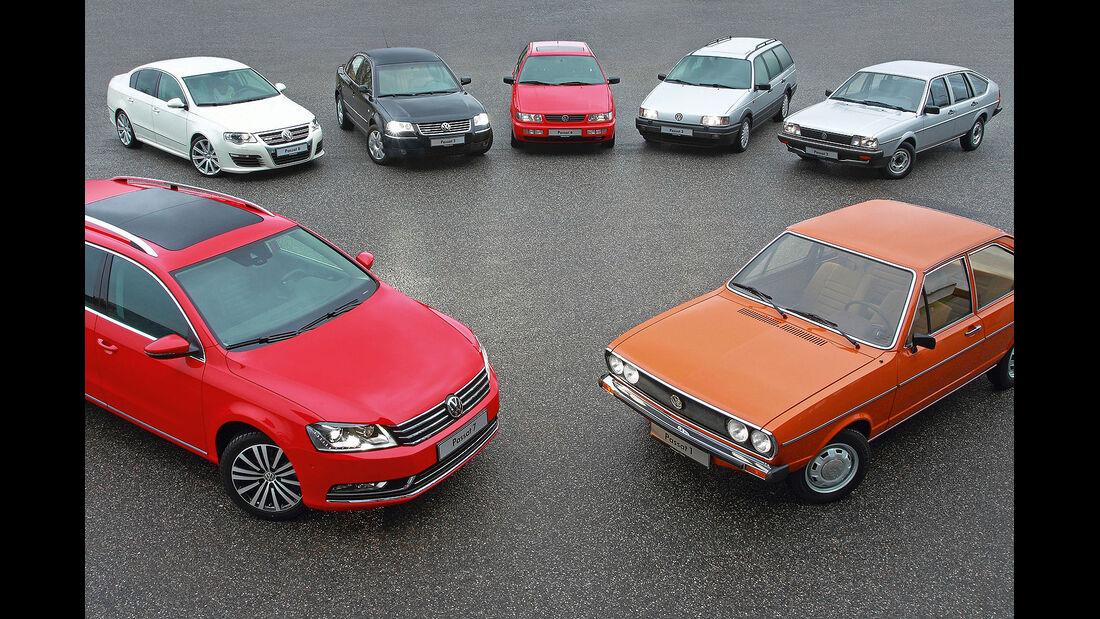 VW Passat Modellgenerationen Historie