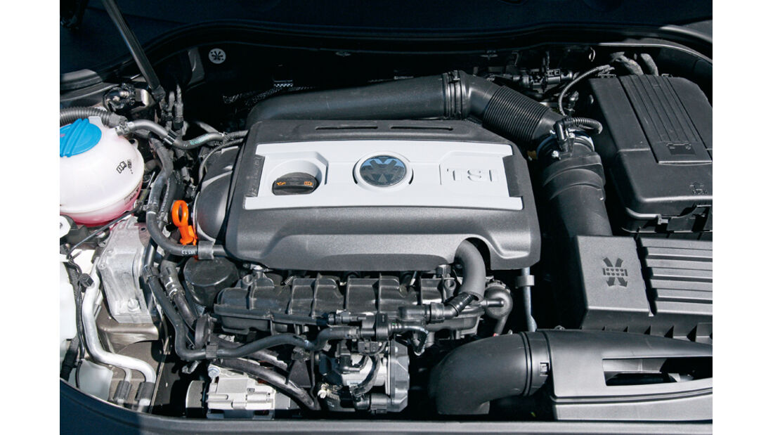 VW Passat, Motor, 2.0 TSI, 210 PS