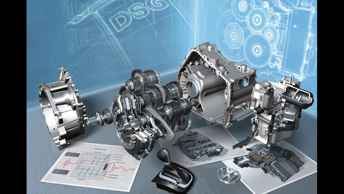 VW Passat, Motor, Grafik
