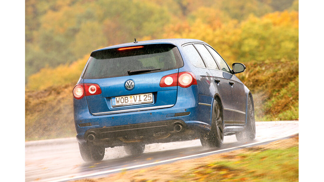 VW Passat R36 4motion