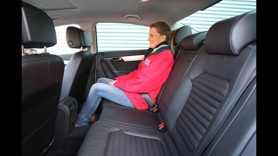 VW Passat, Rücksitze, Rückbank