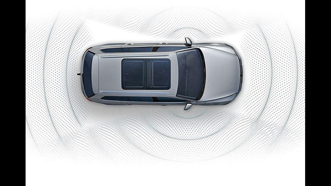 VW Passat, Rundumsicht