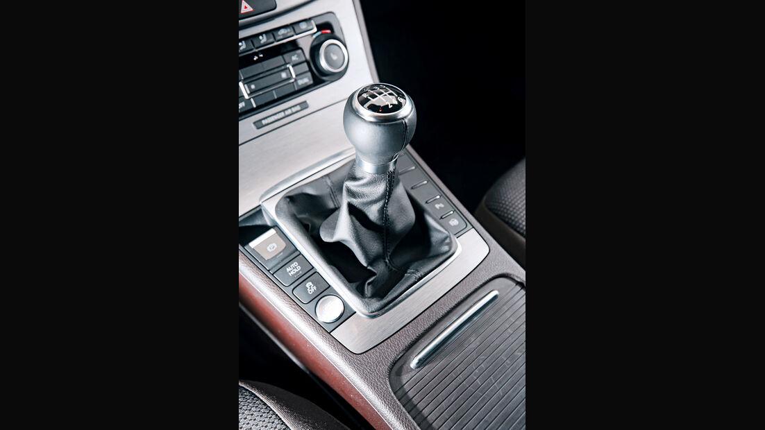 VW Passat, Schaltknauf