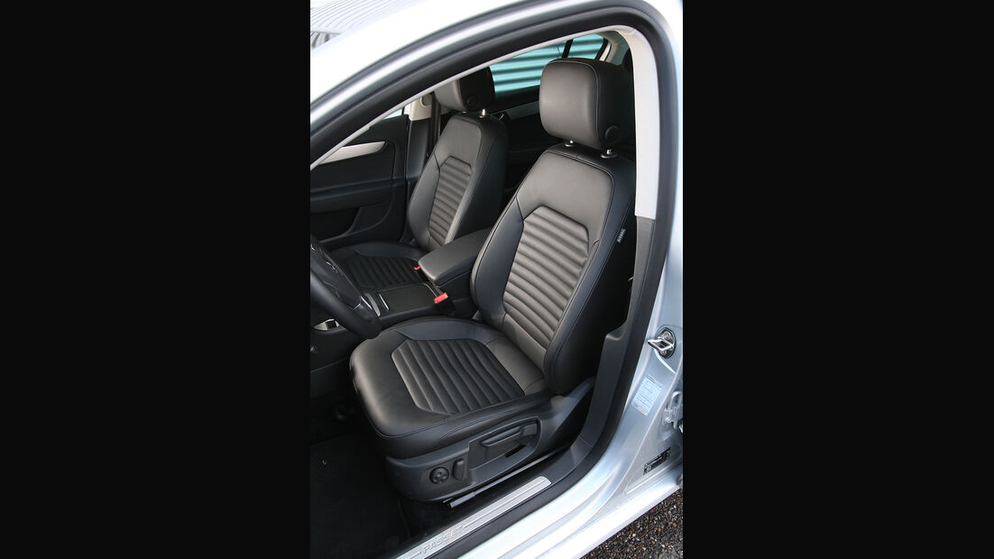 VW Passat, Sitze