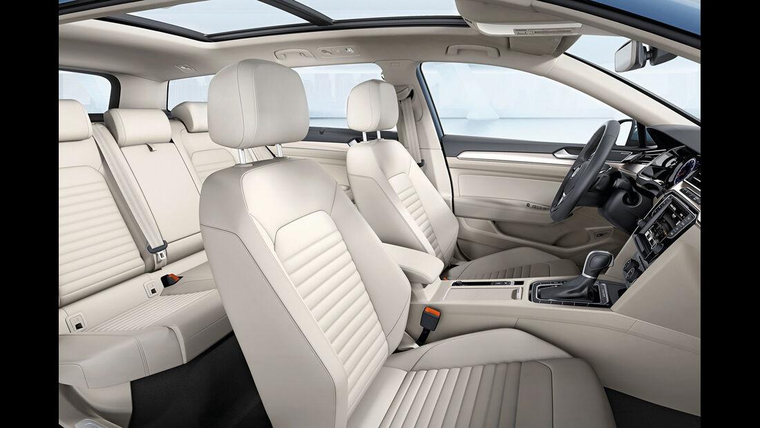 VW Passat, Sitze, Interieur