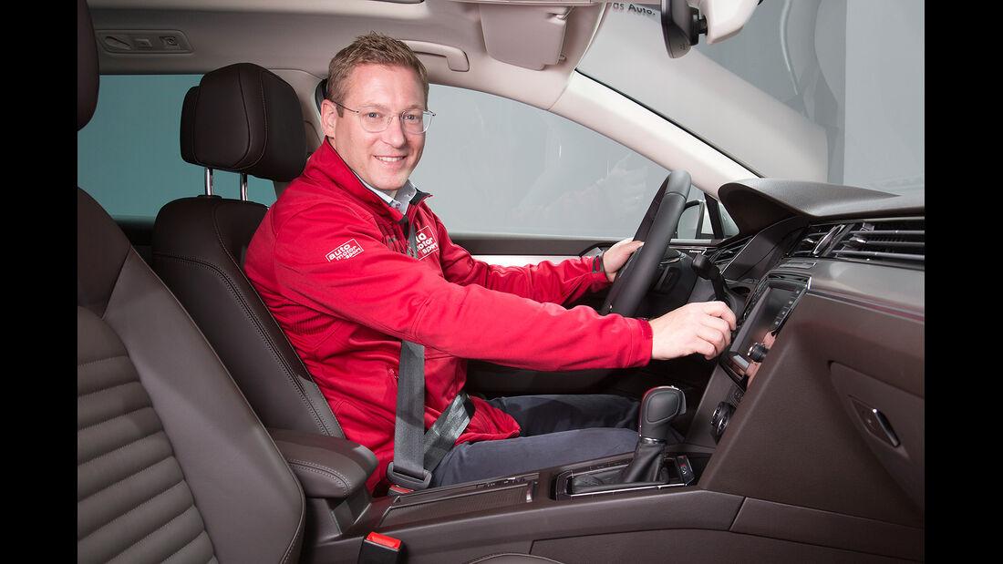 VW Passat Sitzprobe