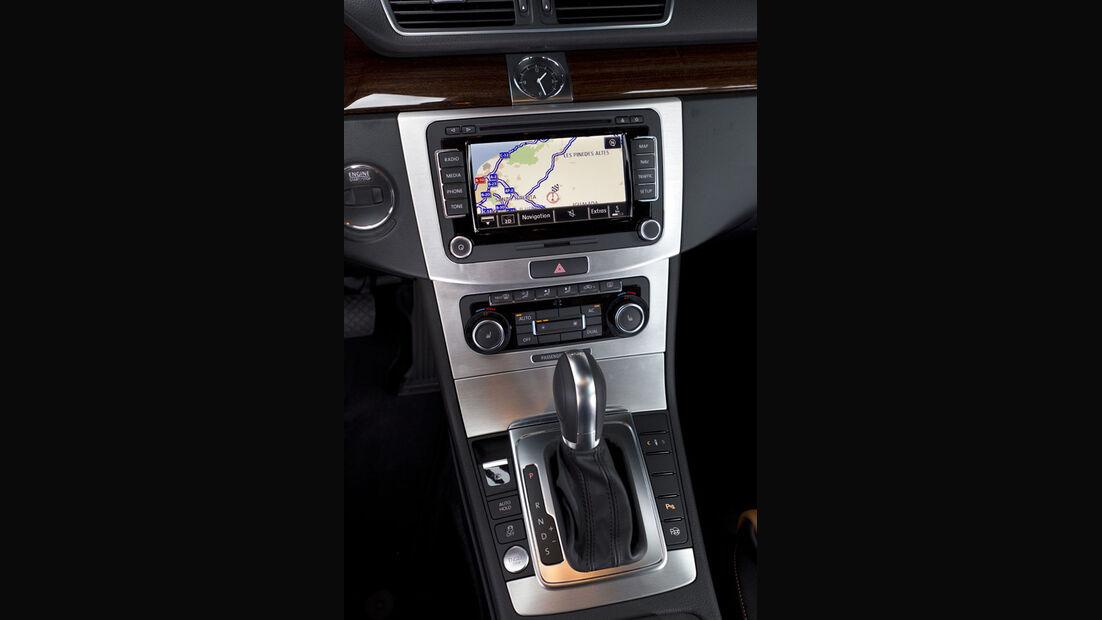 VW Passat, Startknopf