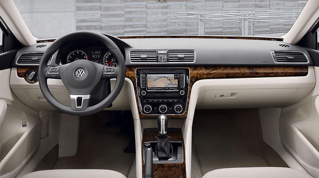 VW Passat USA, Innenraum
