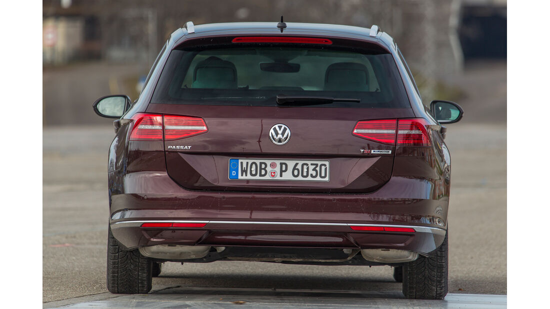 VW Passat Variant 1.4 TSI ACT, Heckansicht