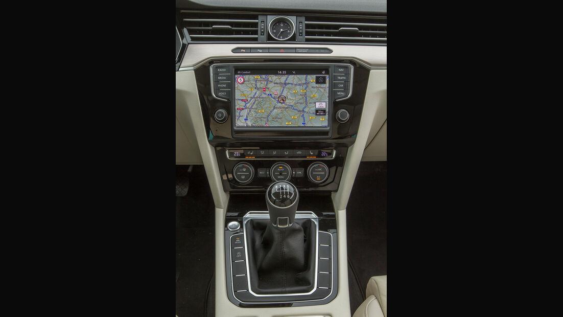 VW Passat Variant 1.4 TSI ACT, Mittelkonsole