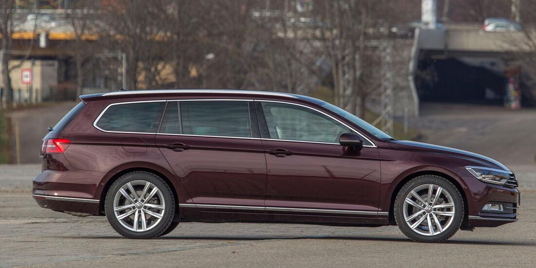 VW Passat Variant 1.4 TSI ACT, Seitenansicht