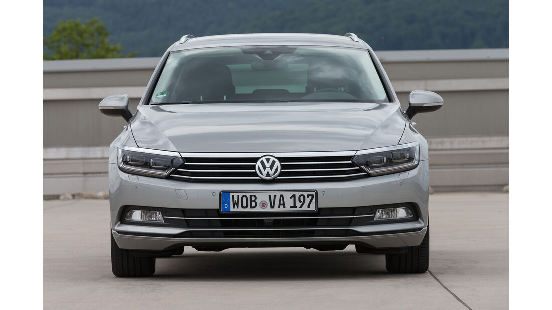 VW Passat Variant 1.4 TSI DSG, Frontansicht