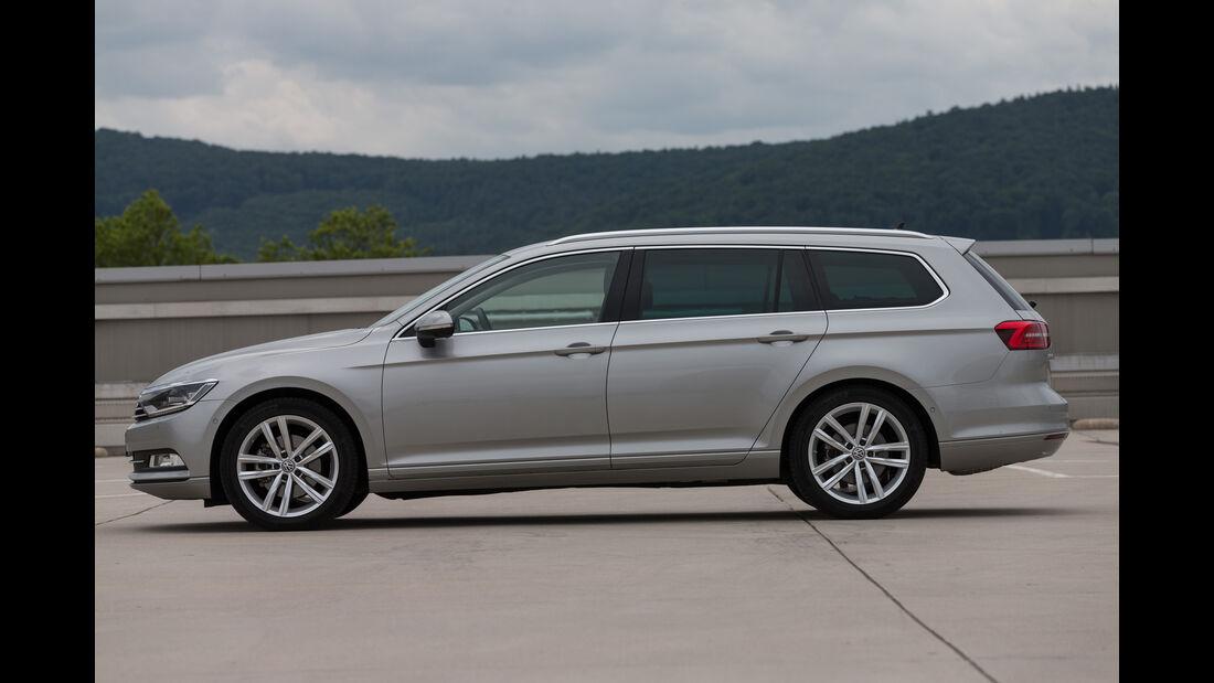 VW Passat Variant 1.4 TSI DSG, Seitenansicht