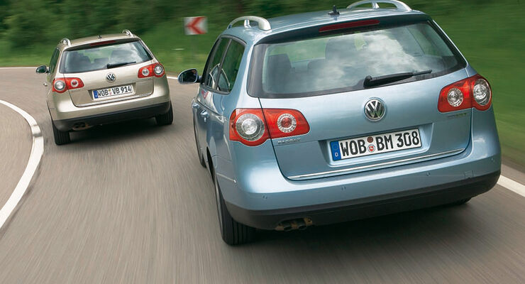 VW Passat Variant 1.9 TDI, VW Passat Variant Blue Motion