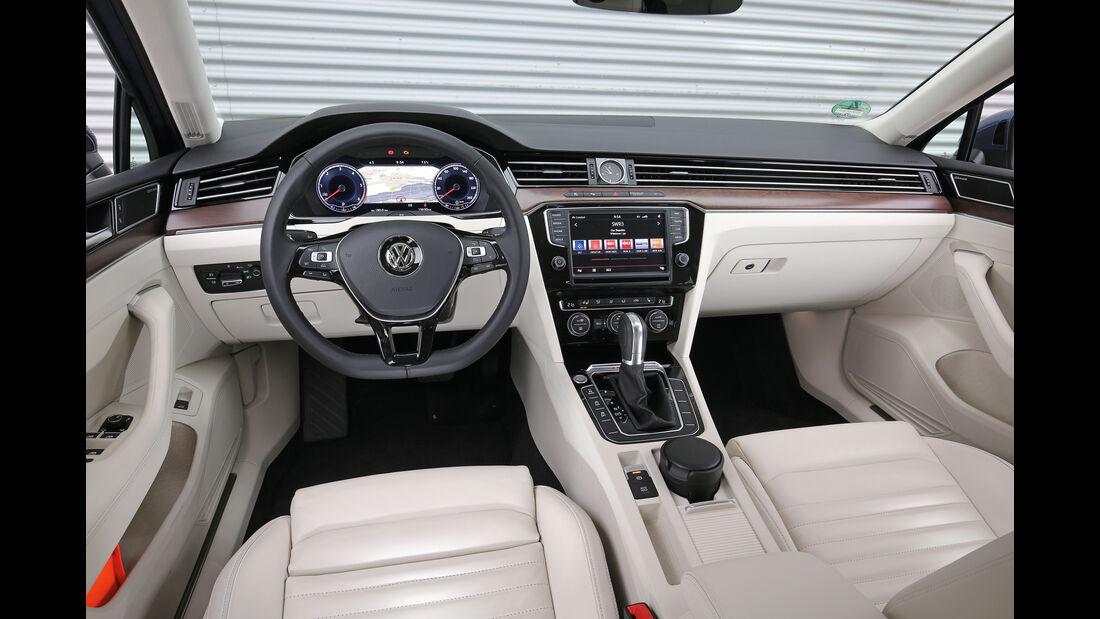 VW Passat Variant 2.0 TDI 4Motion, Cockpit