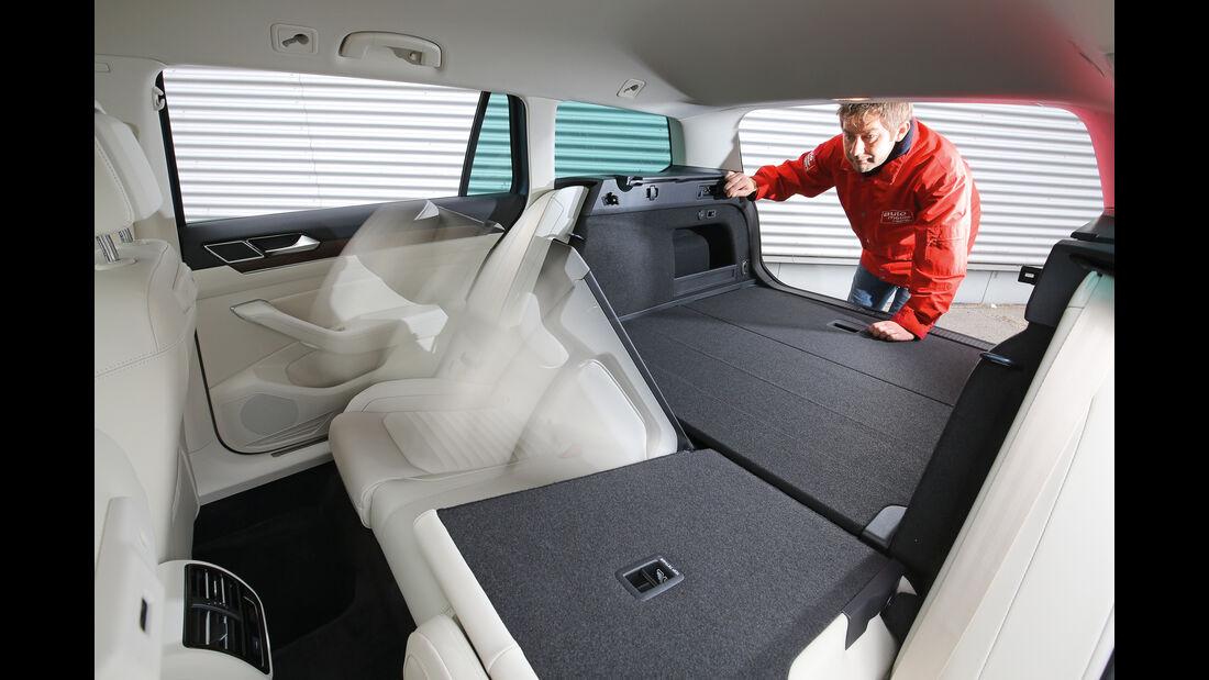 VW Passat Variant 2.0 TDI 4Motion, Fondsitze, Umklappen