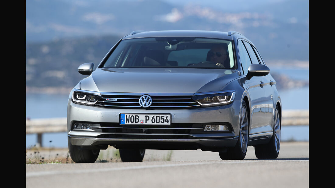VW Passat Variant 2.0 TDI 4Motion, Frontansicht